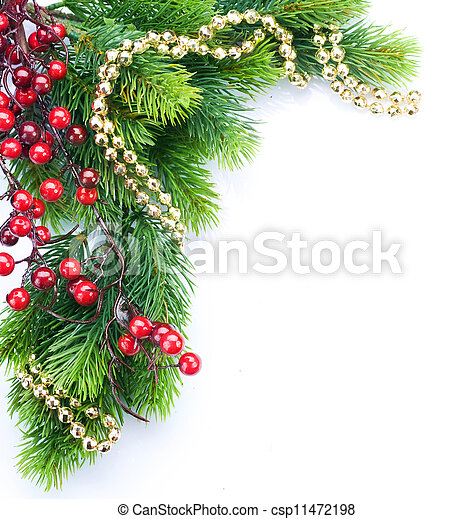 Christmas border - csp11472198