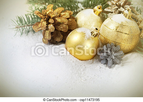 Christmas Border - csp11473195