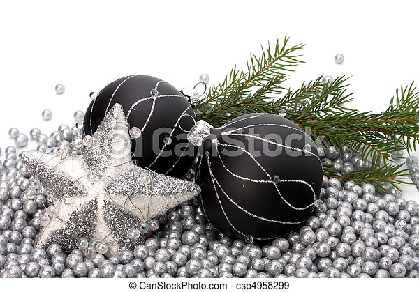 Christmas border. - csp4958299