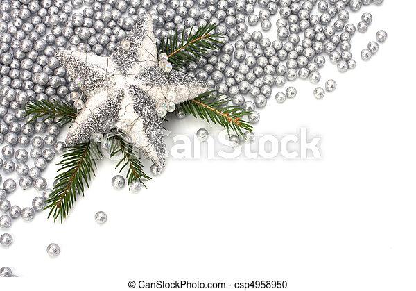 Christmas border. - csp4958950