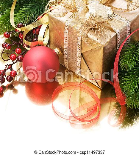 Christmas border - csp11497337