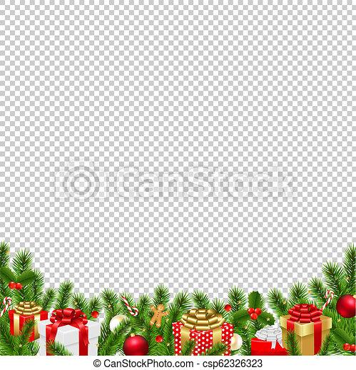 Christmas Graphics Background.Christmas Border Transparent Background