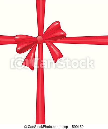 Christmas bow - csp11599150