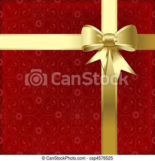 Christmas bow - csp4576525