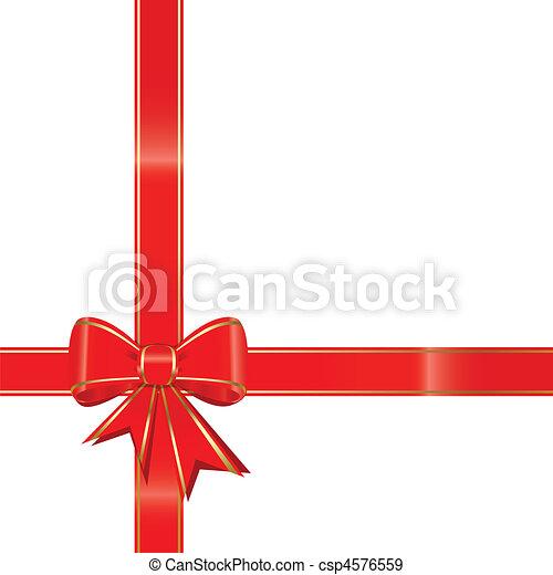Christmas bow - csp4576559