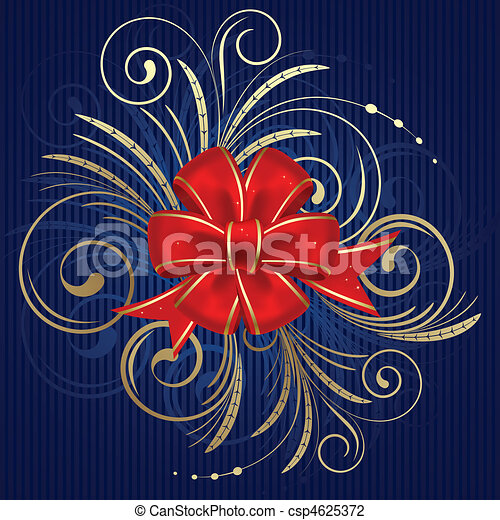 Christmas bow - csp4625372