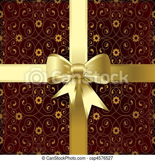 Christmas bow - csp4576527