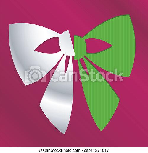 christmas bow - csp11271017