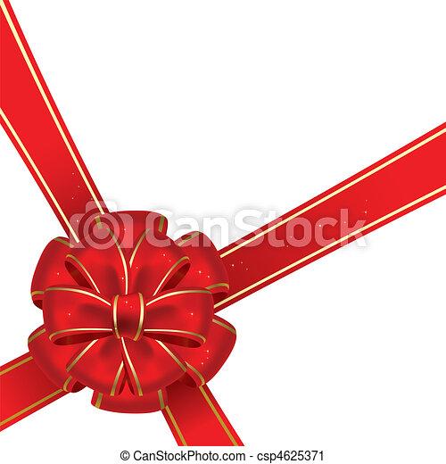 Christmas bow - csp4625371