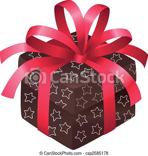 Christmas box - csp2585178