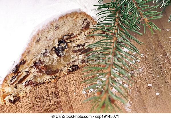 Christmas Cake - csp19145071