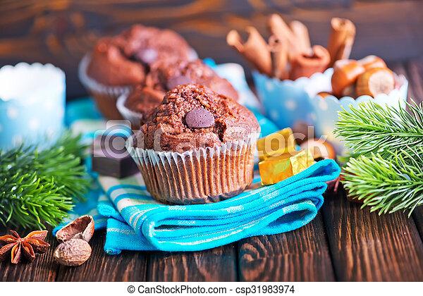 christmas cake - csp31983974