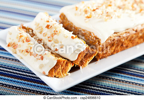 Christmas cake with nuts - csp24896610