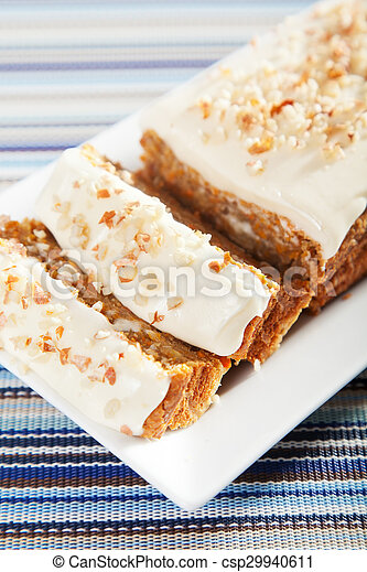 Christmas cake with nuts - csp29940611