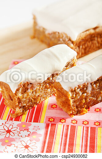 Christmas cake with nuts - csp24930082