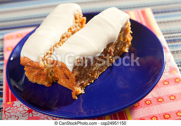 Christmas cake with nuts - csp24951150