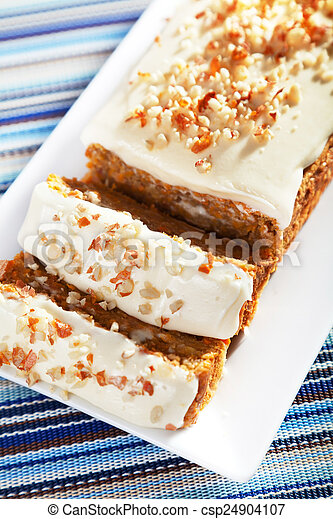 Christmas cake with nuts - csp24904107