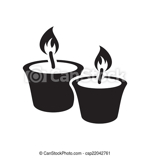 Christmas candles - csp22042761
