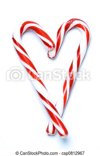 Christmas candy cane - csp0812967