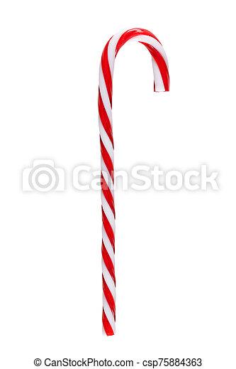 Christmas candy cane - csp75884363
