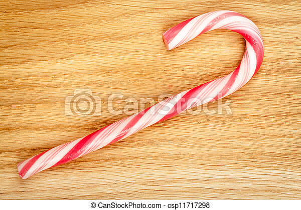 Christmas candy cane - csp11717298