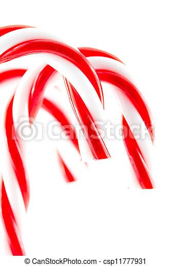 Christmas candy cane - csp11777931