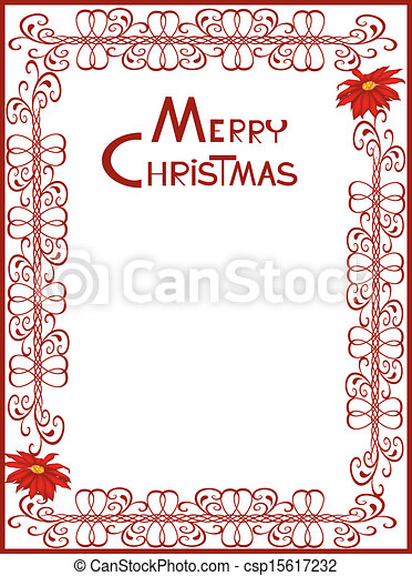 Christmas card 10 - csp15617232
