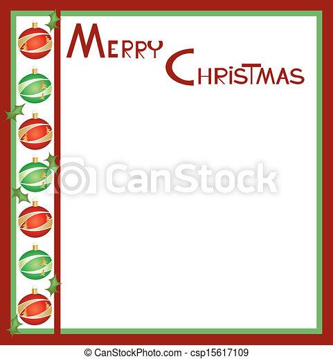 Christmas card 9 - csp15617109