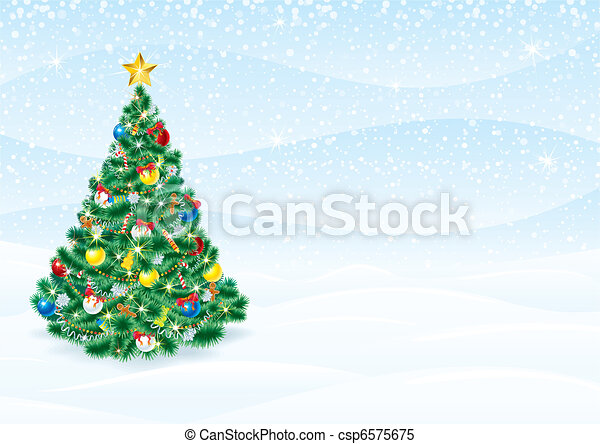 Christmas Card - csp6575675