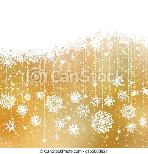 Christmas card. EPS 8 - csp5083921