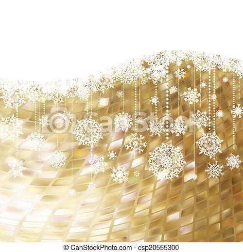 Christmas card. EPS 8 - csp20555300