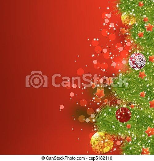 Christmas Card. EPS 8 - csp5182110