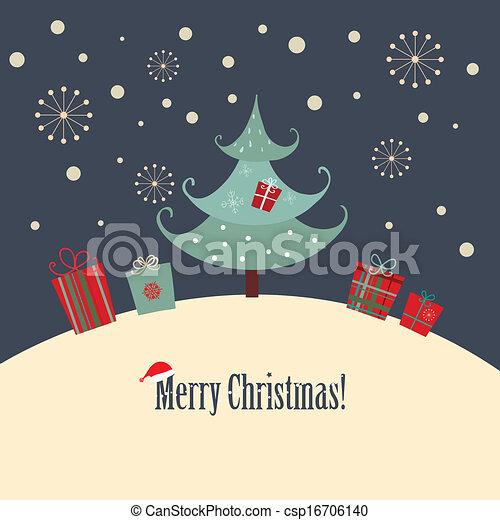 Christmas Card - csp16706140
