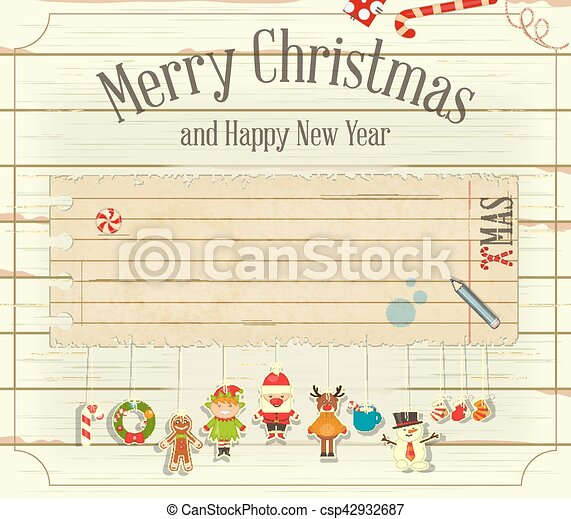 christmas card csp42932687