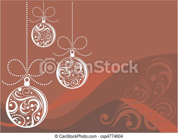 christmas card - csp4774604