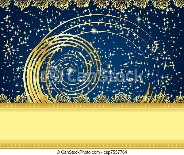 Christmas card - csp7557764