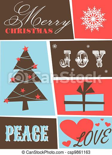 Christmas Card - csp9861163