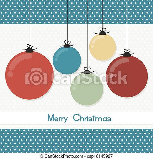 christmas card - csp16145927