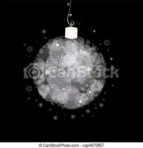 Christmas card  - csp4970857