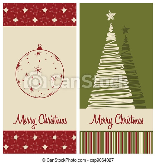 christmas card - csp9064027