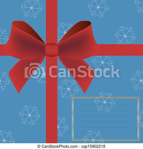 Christmas card invitation - csp15902218