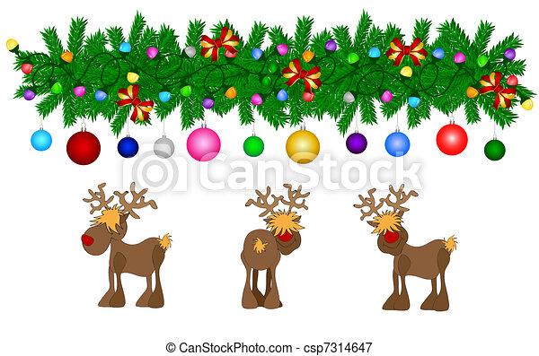 Christmas Card - csp7314647