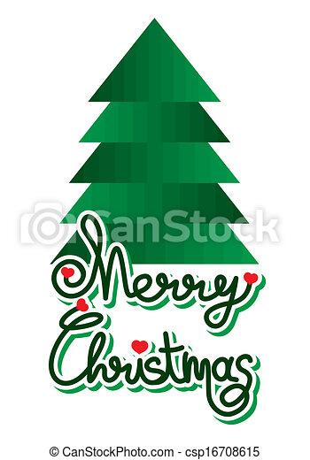 christmas card - csp16708615
