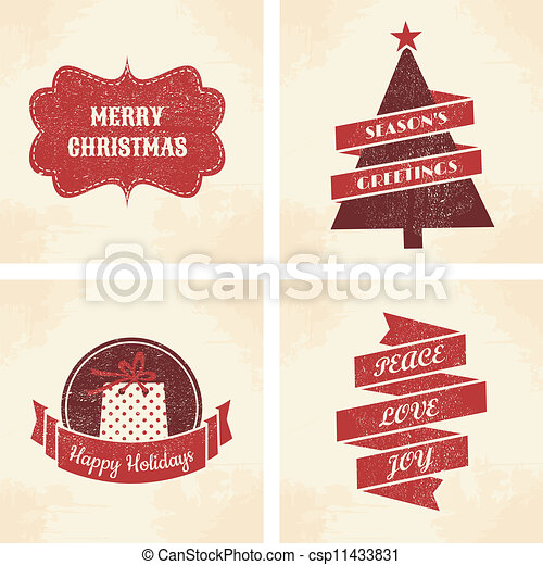 Christmas Cards Collection - csp11433831