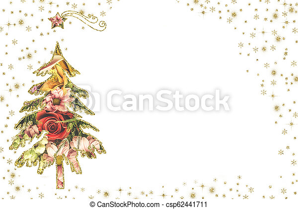 Christmas Greetings Background.Christmas Cards White Background