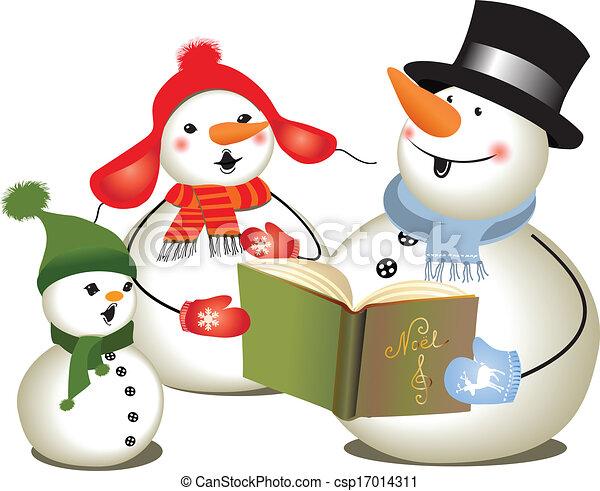 Christmas carols/ Christmas concert - csp17014311