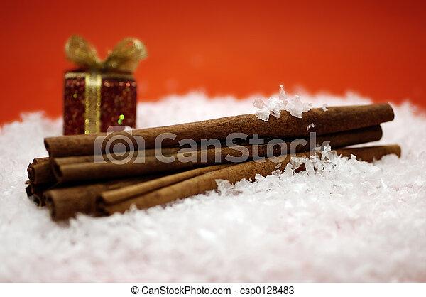 Christmas Cinnamon - csp0128483