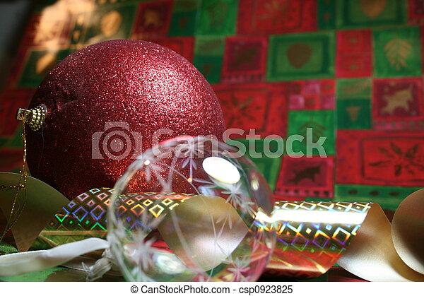 Christmas Composition - csp0923825