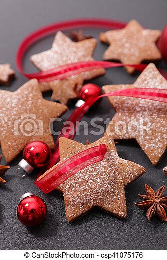 christmas cookie - csp41075176