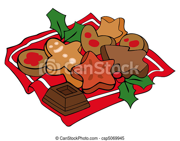 christmas cookies clipart vector search illustration drawings rh canstockphoto com christmas cookies clipart border christmas cookie clip art free printable